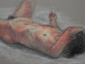 裸婦 / life drawings